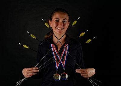 Isabelle Vaissyé Championne de France Tir en Campagne
