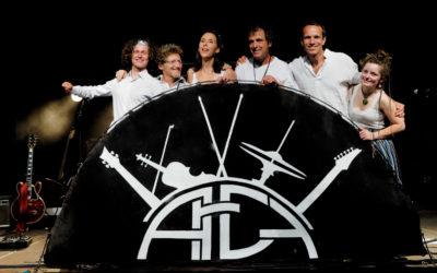 Le Festival des Foins & le groupe Arcy